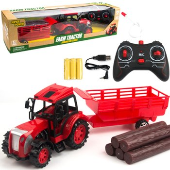 Retro Tractor Children's Toys Educational Toys Fun Toy Model Toy Car Simulation Toy Car Mini Toy Car