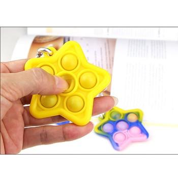 Pop It poput prezent zabawka antystresowa dla dzieci dzieci dorosłych 2021 nowy Push Pop Pop Bubble Sensory Fidget zabawki Антистресс tanie i dobre opinie CN (pochodzenie) popit kostiumy Fidget Toys Stress Relief Toy Pop It Popit Gift