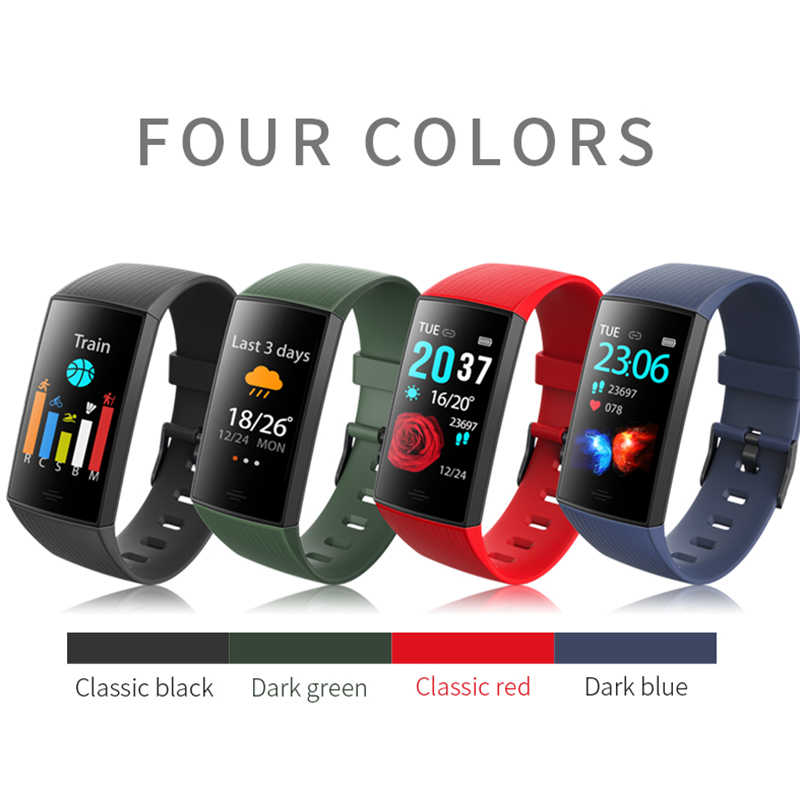 Bracely cy11 banda inteligente à prova dwaterproof água relógio inteligente das mulheres dos homens pulseira de fitness rastreador smartband para android e ios