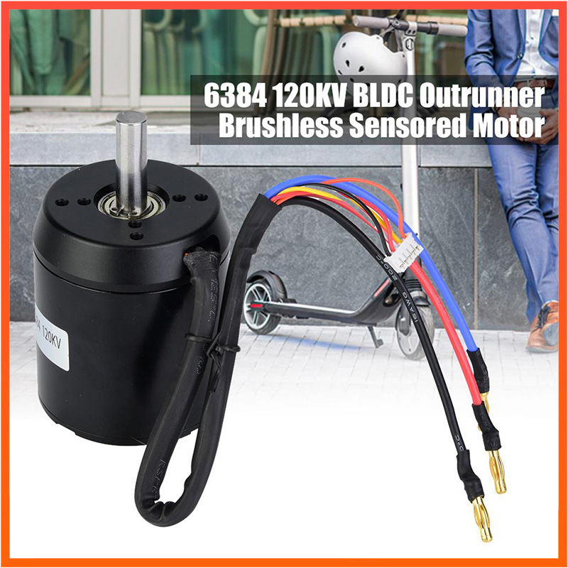 6384 <font><b>120KV</b></font> BLDC Electric Scooter Hub Strong Power Waterproof Dustproof <font><b>Brushless</b></font> <font><b>Motor</b></font> For Electric Scooter Accessories image