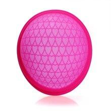 Eusable copa disco menstrual plano-ajuste design copo menstrual silicone disco menstrual extra-fino esterilização tampões alternativa