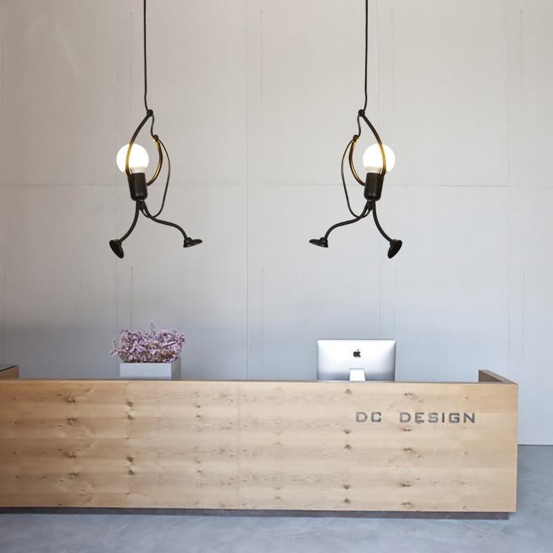 Nordic Lustre Pendente Hanglamp Rope  Living Room  LED  Pendant Lights  Restaurant  Luminaria Pendente Industrial Lamp