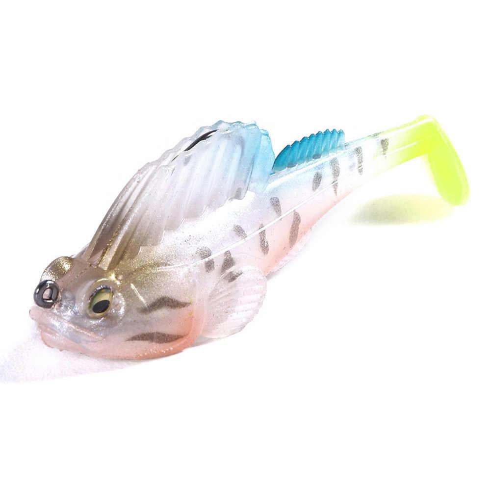 جديد وصول 7 سنتيمتر 14 جرام Megabass الظلام النائم لينة الجسم swim bait عميق تشغيل مجداف الذيل swim bait دروبشيبينغ