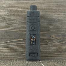 Silikon Fall für Smok Narbe P5 Pod Kit Vape ist Textur Abdeckung Haut Gummi Hülse ModShield leder Wrap