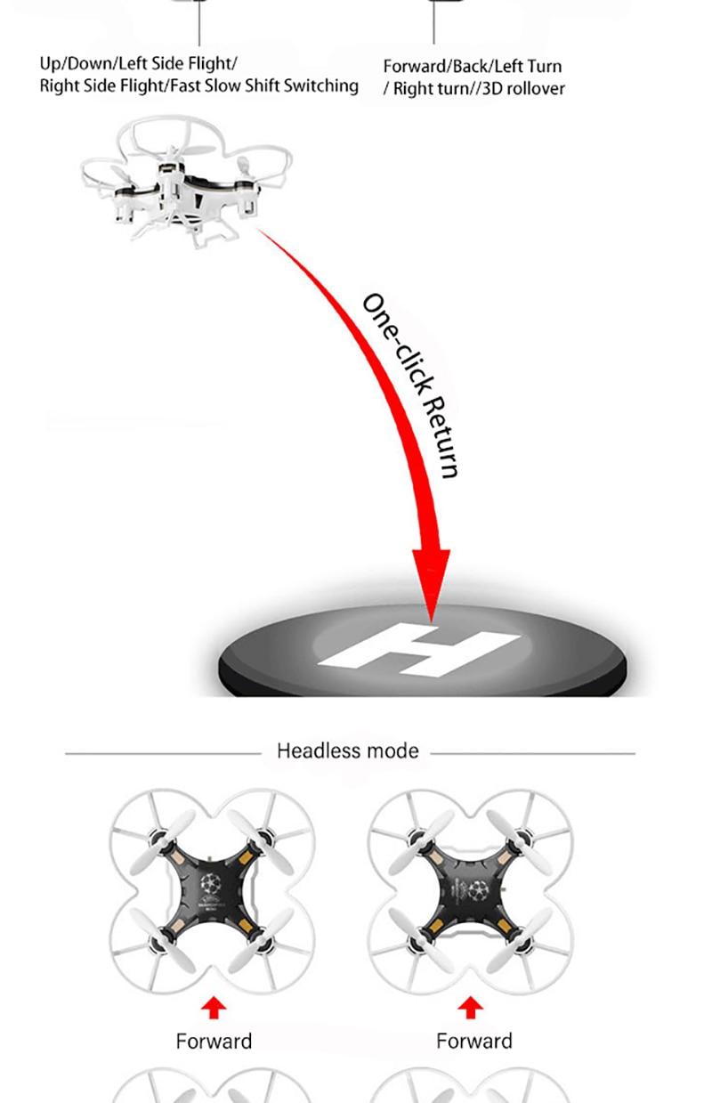 Convertible Control Quadcopter Axis 6