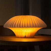 Comprar https://ae01.alicdn.com/kf/H6f5f364e36034e0fa99d0cf08bcb05b8R/Variedad creativa papel luz blanca plegable diseño Control remoto Color cálido LED luz de noche regalo.jpg