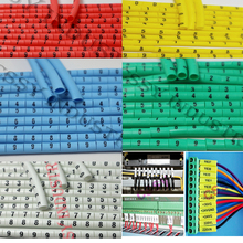 freeshipping 0.5 0.75 1.0 1.5 2.5 4.0 6.0 8.0 10.0 16mm2 colorful cable marker plum tubing 0-9 different number freeshipping 0 5mm2 10mm2 12 different number 0 9 print cable marker sleeving set