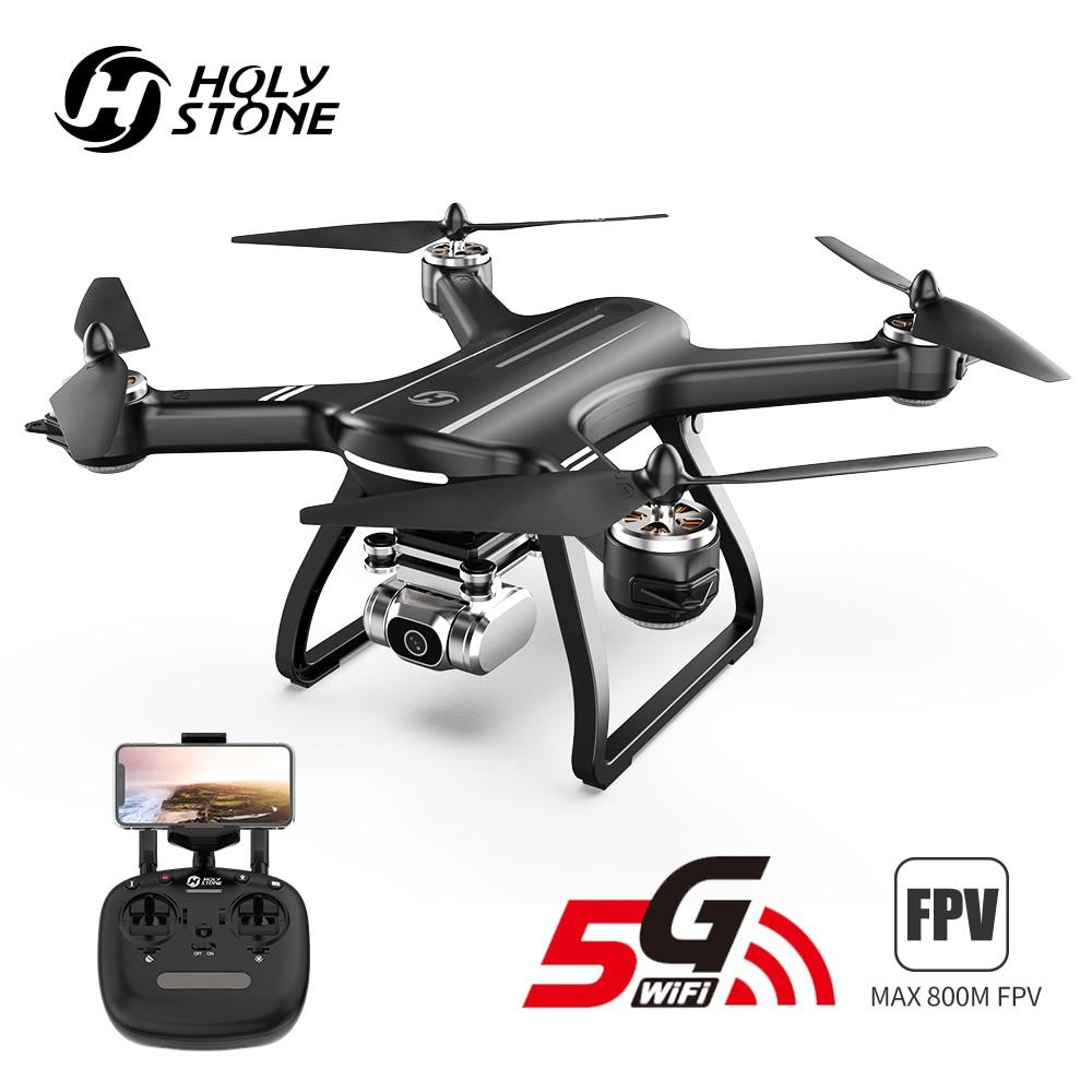 HolyStone HS700D Drone GPS Brushless 5G 800M WIFI FPV 2K Camera Full HD GPS RC Drone 1km 1000M 22 Mins Profesional  Quadcopter