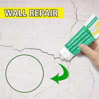 100ml Valid mould proof Wall Mending Agent Wall Repair Cream Wall Crack Nail Repair quick-drying patch restore