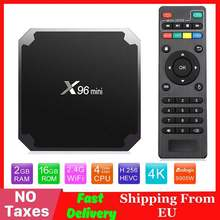 X96 mini Android TV BOX 2G/16G Amlogic S905W 1G/8G QuadCore 2,4G WiFi X96 mini Smart set top box Android 7,1 4K Media Player(China)