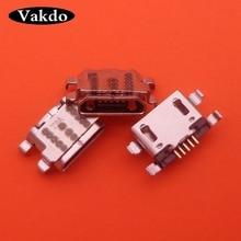 50pcs Micro ชาร์จพอร์ต USB สำหรับ Amazon Fire HD 10 SL056ZE 7th Gen