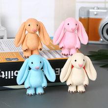 New Cute Standing Lop Eared Rabbit Doll Toy Big Ear Rabbit