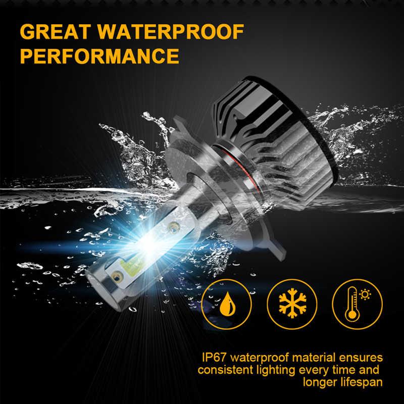 AICARKAS LED רכב 60W 8000LM 6000K LED אוטומטי פנס נורות H7 H8 H11 H1 H3 H4 LED H27 880 H13 9004 9007 9012 12V 24V ערפל אור