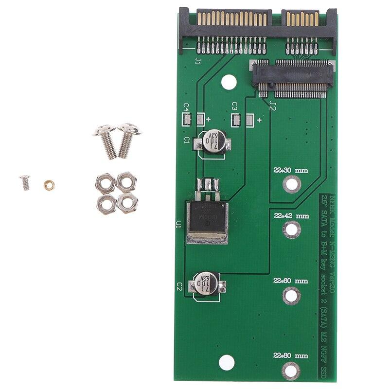 Ngff ( M2 ) Ssd To 2.5 Inch Sata Adapter M.2 Ngff Ssd To Sata3 Convert Card