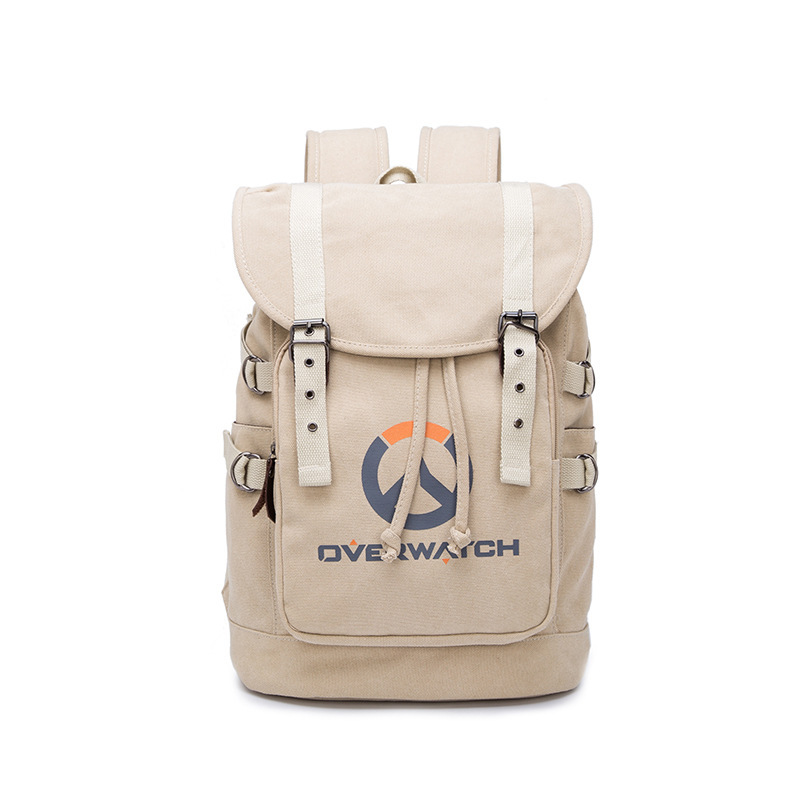 DOTA2 School Bag Turret Logo Computer 15.6-Inch Backpack E-Sports Game Related Products Backpack Canvas Bag