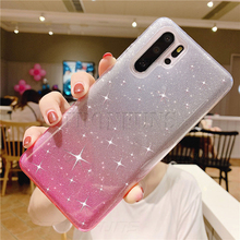 Glitter Case For Huawei P30 P20 Pro P Smart Plus Y5 Y6 Y7 Prime 2018 Honor 10i 10 8X 8A 8C Mate 20 Lite Soft Silicone TPU Cover