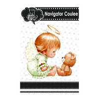 Metal cutting molds, cute little babies, angels, bears, die for novice scrapbooks, die-cutting molds, stamps and molds 2021 new