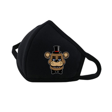 anime Five Nights at Freddy's Mouth Face Mask Reusable Respiratory Care mask Dustproof Breathable Protective Cover Masks