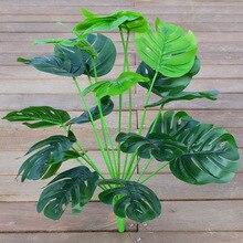 55 см искусственные растения для украшения, поддельные аксессуары для дома, сада, улицы, комнаты, стола, офиса, свадьбы, гостиной, Зеленый Бонс...