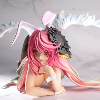 No Game No Life Jibril Bunny Ver. 1/4 Scale PVC Action Figure Anime Figure Model Toys Sexy Girl Figure Collection Doll Gift