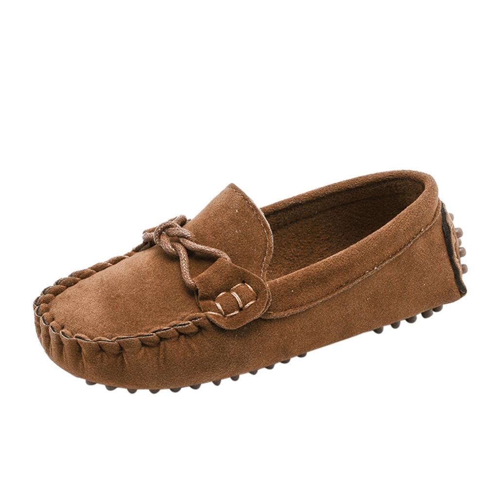 Children Boys Girls Loafers Kids Shoes Solid Color Soft Bottom Breathable Casual Shoes cowboy style cool Shoes Kids Zapatillas(China)