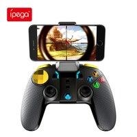 Ipega Gamepad PG-9118 Bluetooth telescópica juego inalámbrico controlador Joystick para Xiaomi Android PUBG teléfono inteligente consola móvil