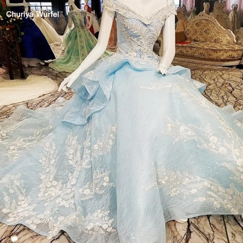 LS00356 robes de soirée de luxe 2017 fleurs à lacets vestido de festa vestidos de fiesta largos elegantes de gala robe de soirée