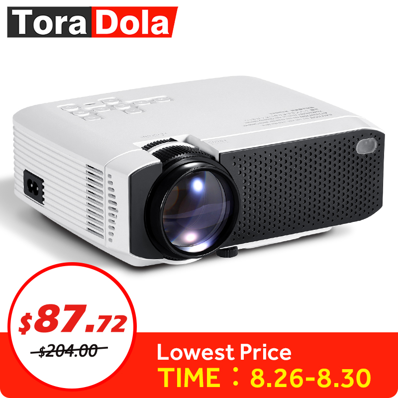 Projector. Resolution Mini Home-Cinema Android Portable 1080P 1280x720 Beamer LED Best