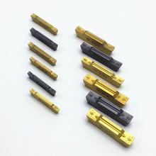 10PCS Slotting Tool Korloy MGMN150 MGMN200 MGMN300 MGMN400 NC3020 NC3030 PC9030 Slotting and Cutting Carbide Lathe