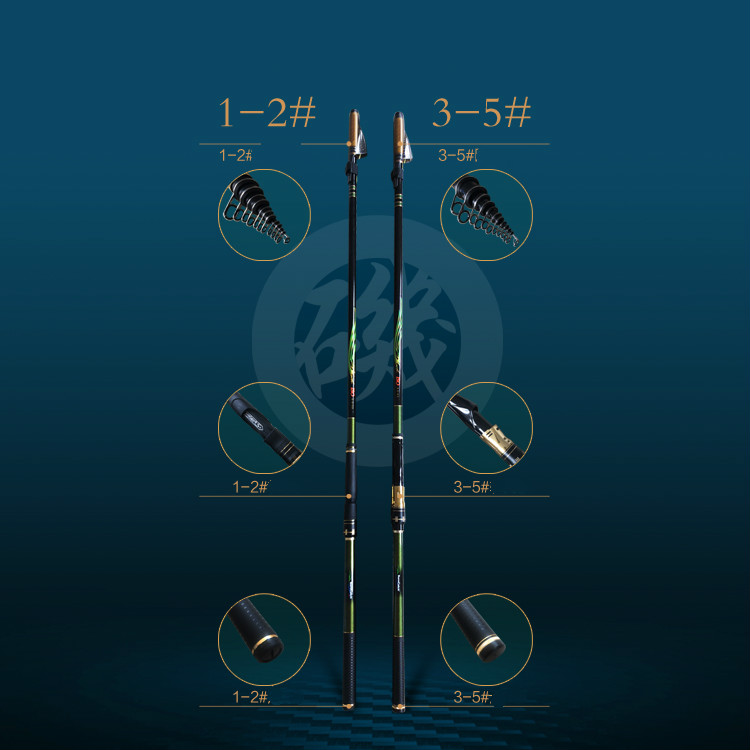 de carbono telescópica wedkarstwo pesca peceh vara pesca equipamento de pesca