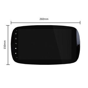 Image 3 - PX6 Autoradio 1 Din Android 10 Multimedia Speler Dvd Gps Autoradio Voor Mercedes/Benz Smart Fortwo 2015 2018 Audio Navigatie Gps