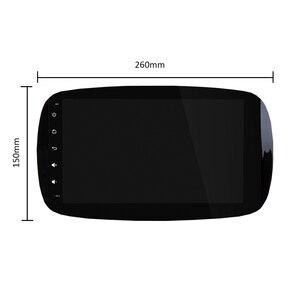 Image 3 - PX6 Phát Thanh Xe Hơi 1 Din Android 10 Đa Phương Tiện Dvd GPS Autoradio Cho Xe Mercedes/Benz Smart Fortwo 2015 âm Thanh 2018 Dẫn Đường GPS
