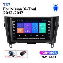 MEKEDE TS7 für Nissan X-Trail X Trail 3 T32 2013 - 2017 Qashqai 2 J11 Auto gps navigation wifi BT Android auto radio keine dvd