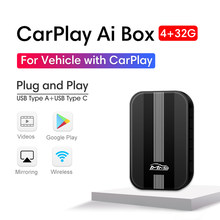 MMB Carplay Ai Box Car Multimedia Player New Version 4+32G Android System Wireless Mirror Link Video for Apple Carplay TV Box