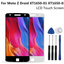 LCD Display Replacement For Motorola MOTO Z Droid XT1650-01/03 Touch Screen Digitizer Assembly For Moto  XT1650-03 LCD Screen