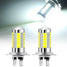 H7 6000K Super Bright LED Lâmpadas de Farol de Carro para mercedes benz w163 w124 w140 w202 w203 w210 w211 w204 w212 w213