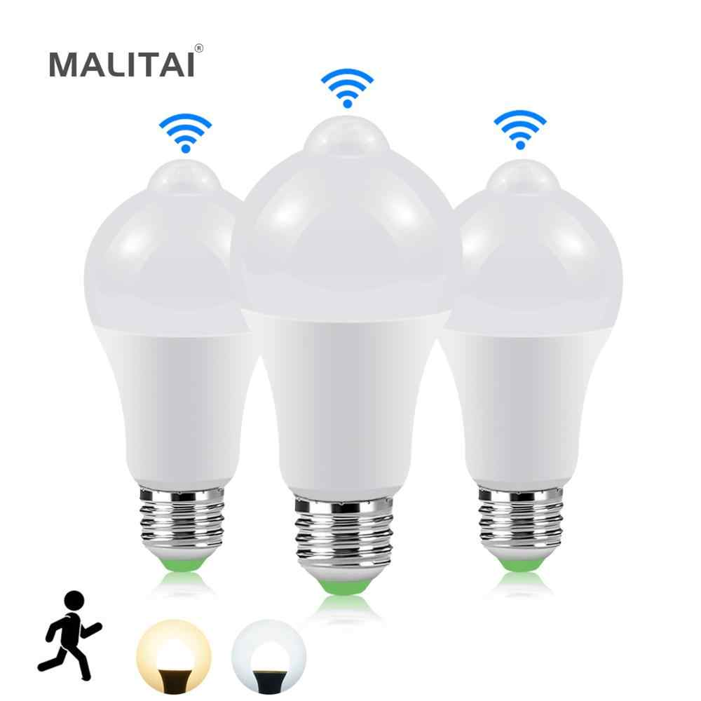 Smart Auto On/Off Led Lamp E27 15W 20W Pir Motion Sensor Gloeilampen Trappen Path Night licht Diy Smart Leven Thuis Huis Verlichting