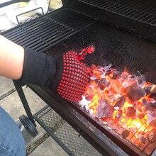 MOM'S перчатки для барбекю, устойчивые перчатки для гриля, силиконовые Нескользящие перчатки для приготовления пищи, для приготовления барбекю, для выпечки