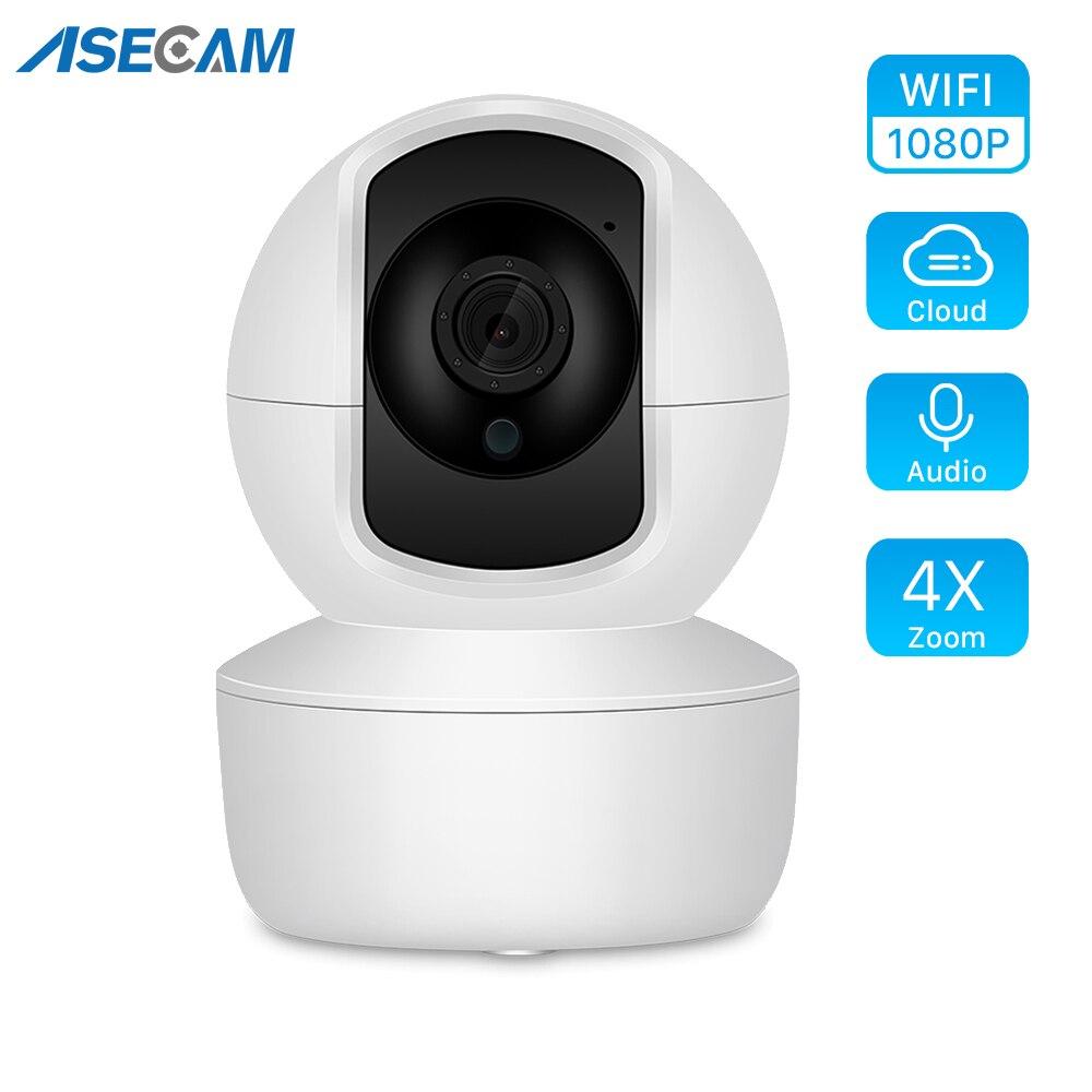 Caméra de Surveillance IP WiFi Cloud HD 1080P, dispositif de sécurité domestique sans fil, avec suivi automatique, application YCC365 1