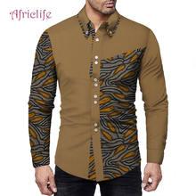 Популярная африканская рубашка для джентльменов; Сезон весна