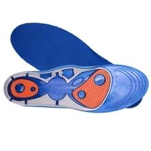 Гель Slicon уход для ног: стельки для подошвенного фасцита Беговые Спортивные амортизирующие стельки поглощающие подушки 1 пара