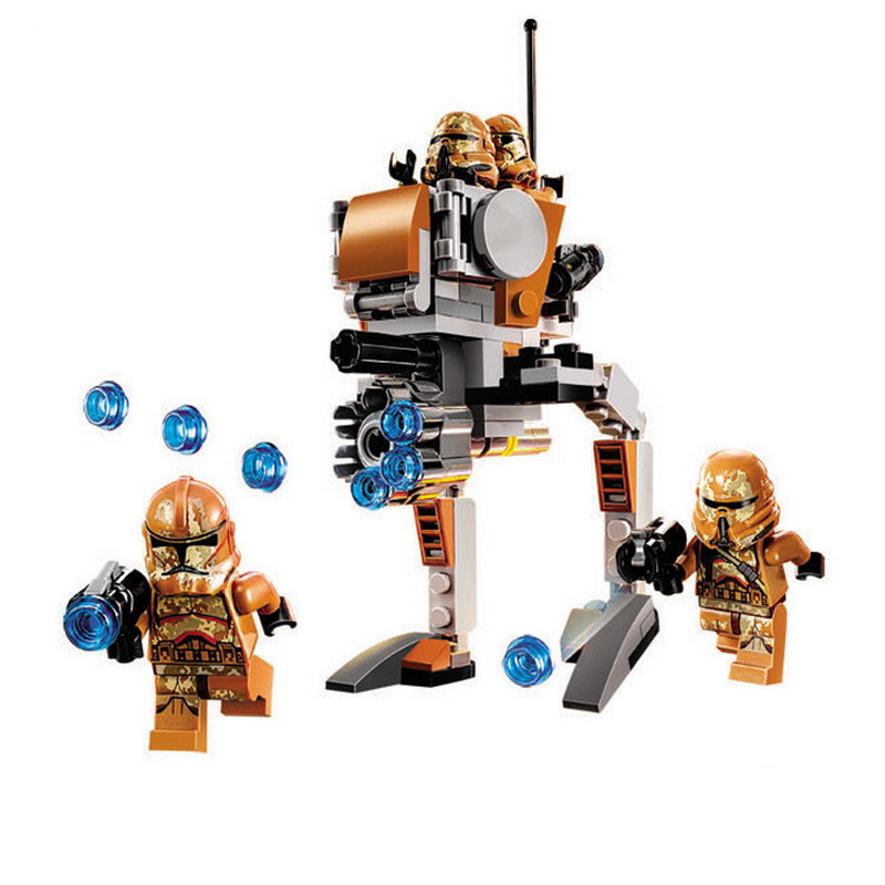 10368 Star Wars Troopers Geonosis 105Pcs Building Block Bricks Toys Compatible with 75089 Christmas gifts
