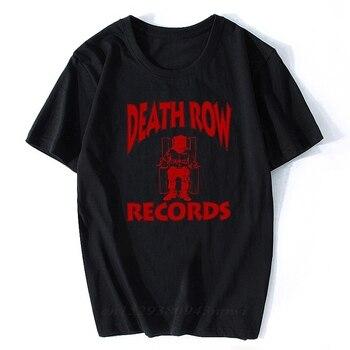 Camiseta de DEATH ROW record para Hombre, camiseta de estética clásica de...