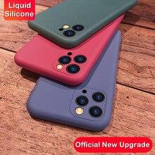 Original Liquid Silicone Phone Case For iPhone