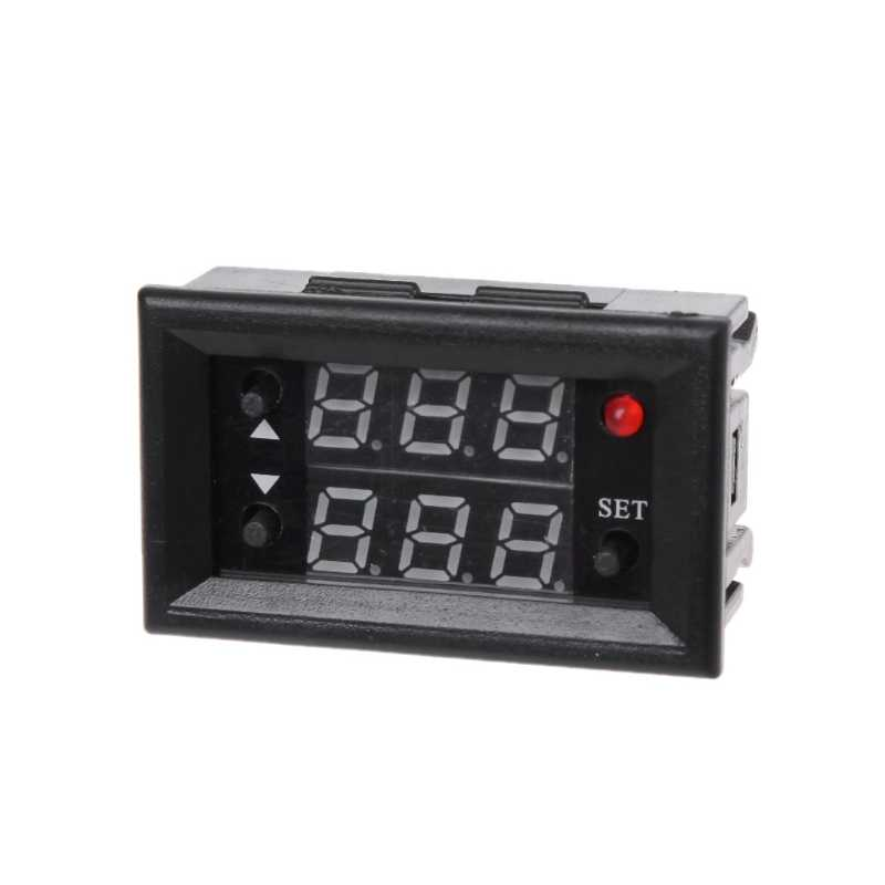 12V Timer Vertraging Relais Module Digitale Led Display Cycle 0-999 Verstelbare Relais Elektrische Apparatuur