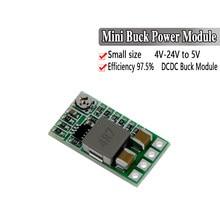 Mini DC-DC conversor de 12-24v zu 5 v 3a, conversor de balcão e cilindro para fora do netzluminary ung buck einconstnatural 97.5% 1,8 v 2,5 v 3,3 v 5 v 9v 12v