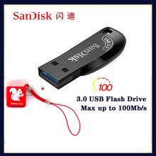 100% Original SanDisk USB Flash Drive CZ410 32GB 64GB 128GB 256GB Pen Drive Memory Stick Black U Disk Mini Pen Drive Memory