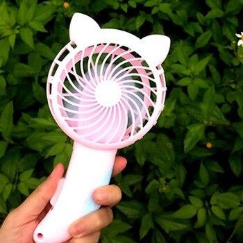 1pcs!! Gifts Manual Handheld Summer Mini Cooling Air Conditioner for Children Kids Mini Portable Hand Pressure Fan Color Random