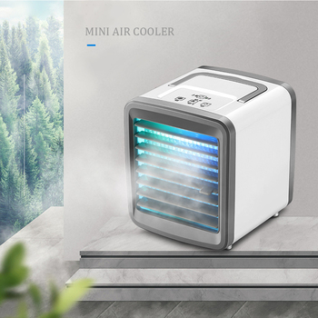 Mini Air Conditioner Air Cooler Fan Portable Airconditioner for Home Room Air Cooling Desktop USB Charging Air Conditioning Fans fan polaris psf 40 v floor fan mini air conditioner air cooler ventilation cooler fans