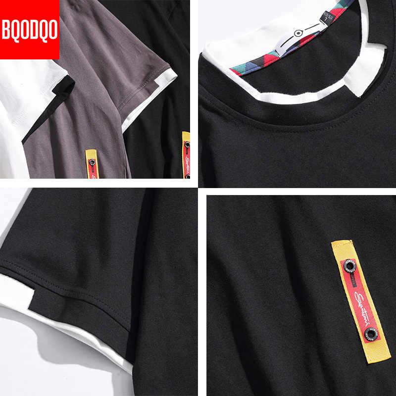 5XL t-shirt manica corta uomo Hip Hop uomo cotone t-shirt taglie forti o-collo t-shirt estiva da corsa moda casual magliette lavorate a maglia allentate